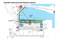 Plan - Location Map - Geladoc Vinexpo Bordeaux