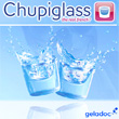 Chupiglass - lot de 20 pièces ( Chupiglass ). Verre en glace - Ice Shot Glass - Verrine